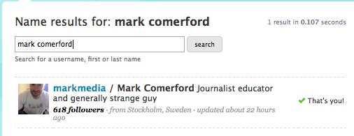Twitter _ mark comerford - Twitter Name Search